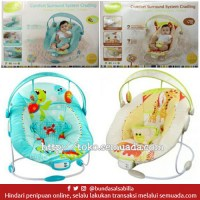 JUAL BELI BABY BOUNCER MASTELA COMFORT SURROUND SYSTEM CRADLING