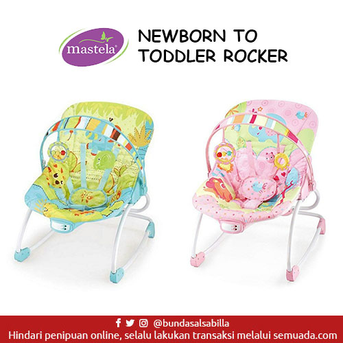 JUAL BELI BABY BOUNCER MASTELA NEWBORN TO TODDLER ROCKER