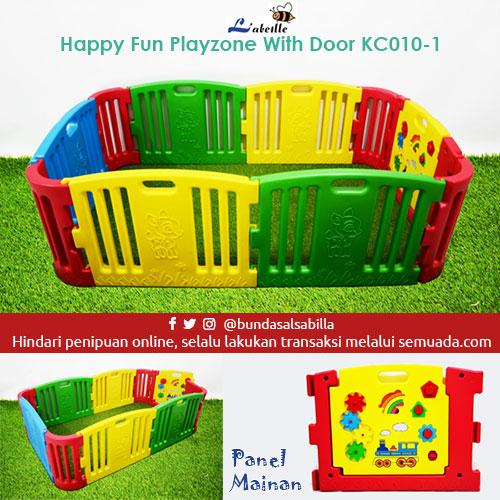 Jual Beli Pagar Main Bayi Labeille Large Playpen Kc010 With Door